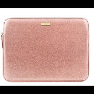 Kate Spade Rosè Gold laptop case